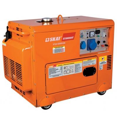 SKAT УГД-5300ЕК Дизельная электрогенераторная станция в кожухе 5,3 кВт
