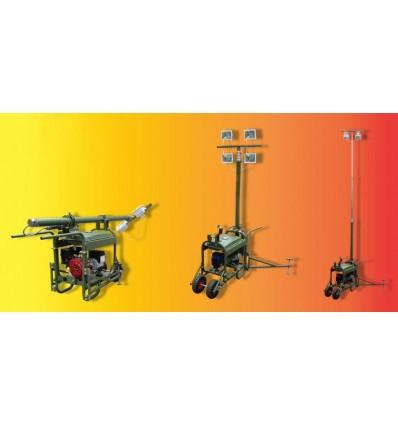 Вепрь АБП 2,2-230 ВХ-БОМ Осветительные мачты на базе портативных бензиновых электрогенераторов ВЕПРЬ АБП 2,2-230 ВХ