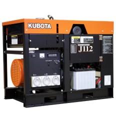Kubota J 112 Дизельный электрогенератор 12 кВт, Япония