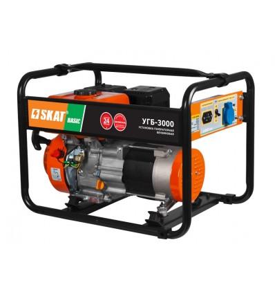 Skat УГБ-3000 Basic Бензиновый генератор 3 кВт, 220В