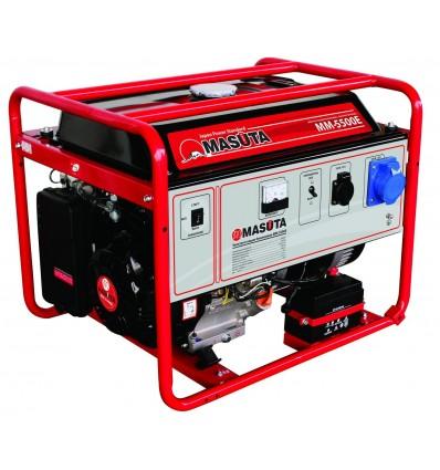 MASUTA MM-5500E Бензо-генератор 5 кВт, 220В