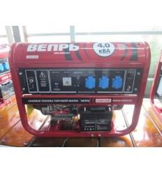 Вепрь АБП4-230 ВФ-БСГ Бензиновый генератор 4 кВт с электростартером