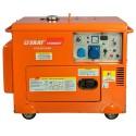 Скат УГД-6000ЕК Генератор дизельный в кожухе мощностью 6 кВт