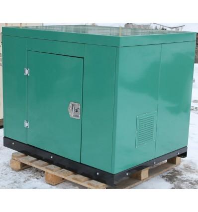 Бензиновый генератор в миниконтейнере, ENERGO EB12.0/230-SLE, мощность 12 кВт, 220В, с АВР
