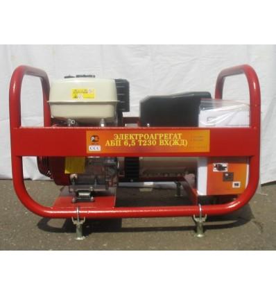 АБП 6,5 Т230 ВХ (ЖД) Бензиновый электроагрегат для нужд РЖД, 6,5 кВА, трехфазная 230В
