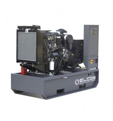 Elcos GE.FA.110/100.BF - Дизельный генератор 100 кВА / 80 кВт в открытом исполнении