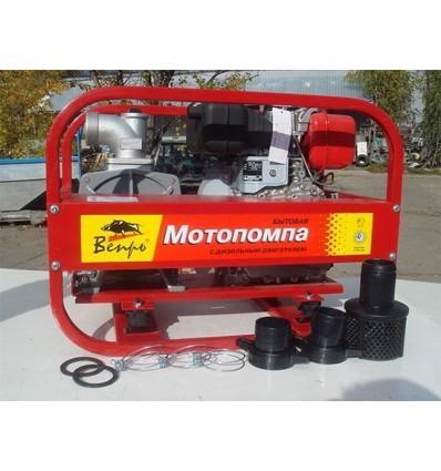 Мотопомпа дизельная для чистой воды Вепрь МП 800 ДЯ