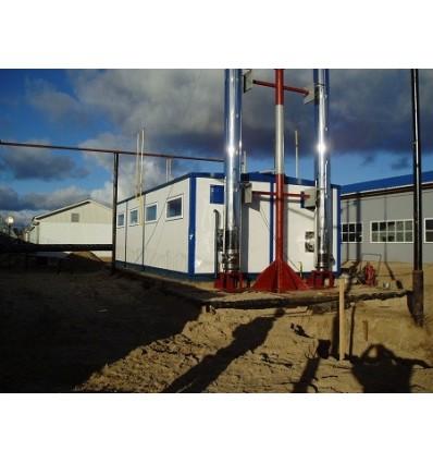 УРСТЭК КМВ-140 Г/Д Модульная газодизельная водогрейная котельная
