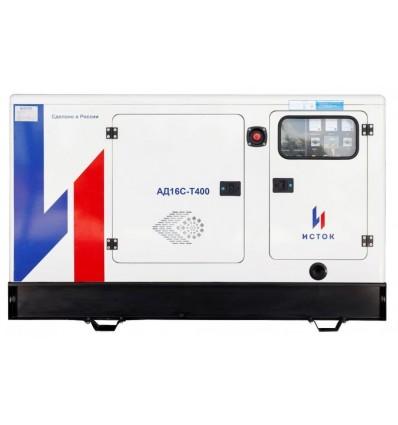 Исток АД16С-Т400-РПМ15 Трехфазный дизель-генератор 16 кВт в кожухе