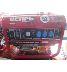 Вепрь АБП 6-230 ВФ-БГ Бензиновый генератор 6 кВт, 220В