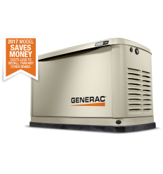 Generac 7044 Однофазный газовый генератор 8 кВт в шумозащитном кожухе