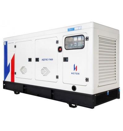 Дизельная генераторная установка ИСТОК АД75С-Т400-РПМ21 в кожухе