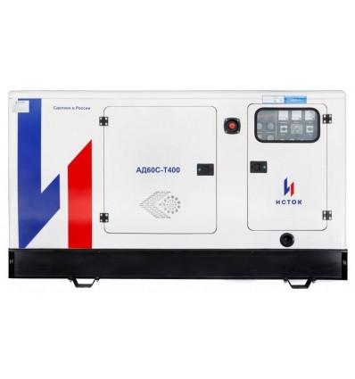 АД60С-Т400-РПМ21 - Дизельные генераторы Исток, 60 кВт, в кожухе