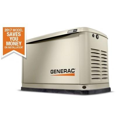 Generac Guardian 7046 Бытовой газовый генератор 13 кВА и 220В