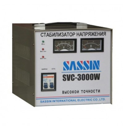 Sassin SVC-3000W Электромеханический стабилизатор напряжения 3 кВА