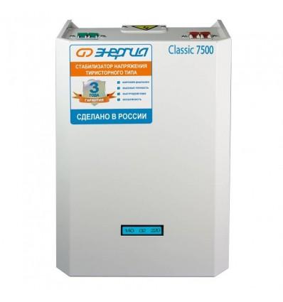 Тиристорный стабилизатор Энергия 7500 ВА Classic