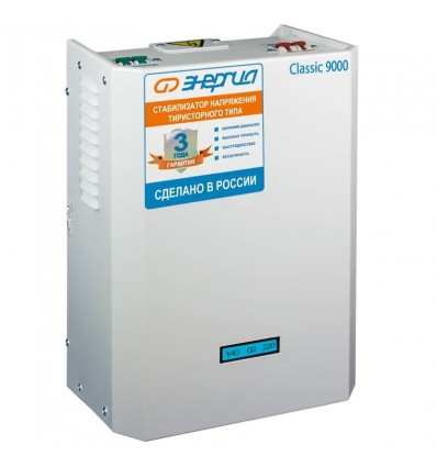Энергия Classic 9000 ВА Тиристорный стабилизатор 220В