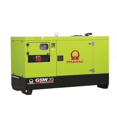 Pramac GSW45Y Дизельный генератор 35 кВт, трехфазный, в кожухе