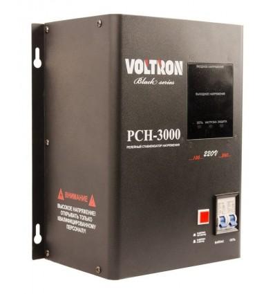 Voltron РСН-3000 Black Series Стабилизатор напряжения 3 кВА