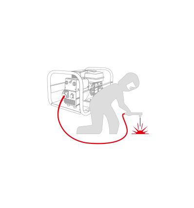 Вепрь АСПБT200-6/230 ВХ Сварочный бензогенератор 200А