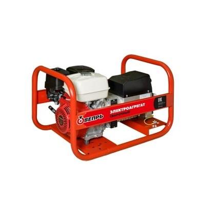Вепрь АСПБВ220-5/230 ВХ Однофазный сварочный генератор 5,5 кВА, 220А, двигатель HONDA