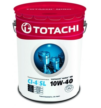 Масло моторное Totachi Niro HD Semi-Synthetic API CI-4 / SL 10W-40 19 л