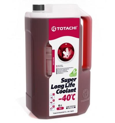 Жидкость охлаждающая низкозамерзающая Totachi Super Long Life Coolant Red -40C 10л.