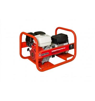 Вепрь АБП 6-230 ВХ Генератор 6 кВт, бензиновый двигатель HONDA