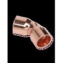 Sanha 5041 Отвод 45° ВП-ВП 18 для медных труб под пайку