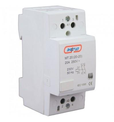 Модульный контактор Энергия МF40 4P 40A