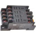 Разъем розеточный модульный РРМ77/4 (PTF14A) для РЭК77/4 IEK