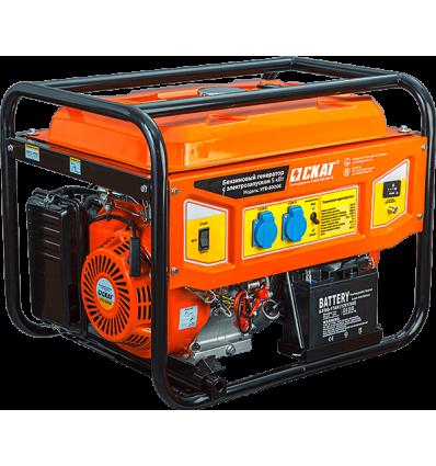 Скат УГБ-5000Е Бензиновая электростанция 5 кВт для дома