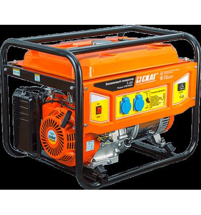 Скат УГБ-5000 Бензиновый генератор 5 кВт, обновленный