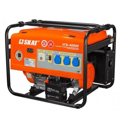 Скат УГБ-4000Е Бензиновая электростанция 4 кВт с электростартером
