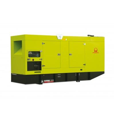 Pramac GSW330V Дизельная электростанция в кожухе, мощностью 252 кВт, трехфазная 380/220В