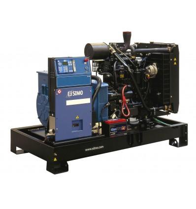 SDMO Montana J110K Дизельная электростанция мощностью 100 кВF/80 кВт, Франция