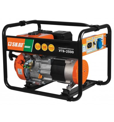 Скат УГБ-2500 Basic Бензогенераторная установка 2,5 кВт
