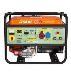 SKAT УГСБ-4500(-1)/220 Бензогенератор с функцией сварки, ток 220А