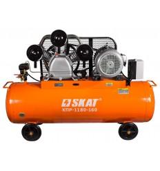SKAT КПР-1180-160 Электрический компрессор 380В производительностью 1180 л/мин