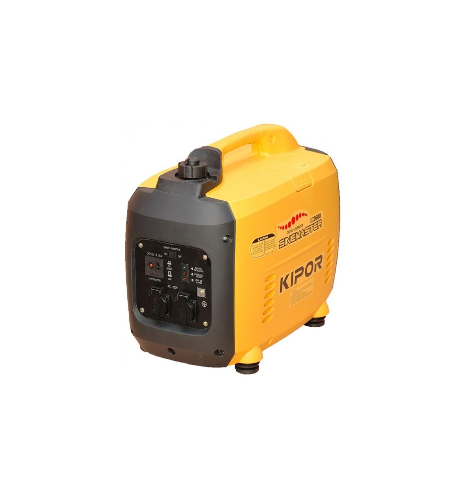 Бензогенератор инверторного типа, переносной Kipor IG2600 купить